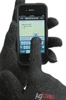 AGLOVES - Rękawiczki do urządzeń z ekranem dotykowym