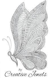 Zentangle art butterfly drawing easy tutorial for beginners Doodle Art Drawing, Zentangle Drawings, Pencil Art Drawings, Art Drawings Sketches, Cool Drawings, Doodling Art, Zentangle Art Ideas, Simple Doodles Drawings, Easy Zentangle Patterns