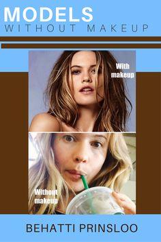 Models without Makeup - Victoria's Secret Model Behatti Prinsloo Models Without Makeup, Victorias Secret Models, Models Off Duty, Victoria's Secret