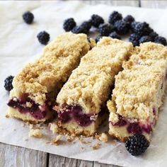 A Sweet and yummy recipe for blackberry bars, this is a delicious family favorite treat.. Blackberry Bars Recipe from Grandmothers Kitchen.