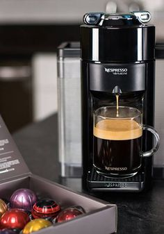 The streamlined design of this Evoluo Espresso Machine from Nespresso is sure to become the focal point in your kitchen. Click to add this elegant essential to your home today.