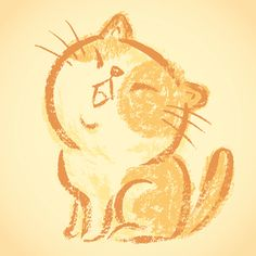 'Impudent cat' by Toru Sanogawa