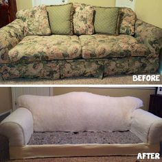 Alright now that you know everything you need to about getting started with upholstery; Let's begin ripping the fabric off! Note: Every piece of furniture is different, so I will be giving ju…