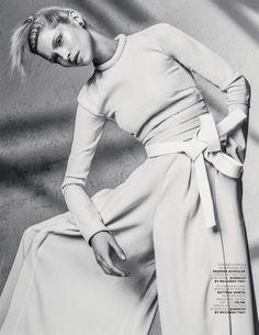 Hana Jirickova by Sebastian Kim for Vogue Russia April 2014