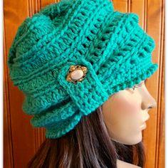 Free Crochet Pattern Wintertide Beanie - free crochet pattern at Beatrice Ryan Designs Crochet Adult Hat, Crochet Beanie Pattern, Crochet Cap, Crochet Scarves, Crochet Clothes, Free Crochet, Crochet Patterns, Crochet Ideas, Ravelry Free Patterns