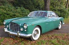 1954-55 Chrysler Ghia ST Special. 1 of 2 known to survive. Delivered via Italian Chrysler agent Autofamosa 1955. Built by Ghia Torino