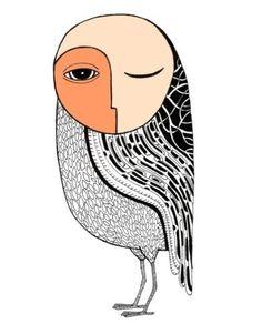 'Mighty Night Owl' by Pedro Lucena