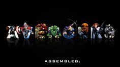 """""""Avengers Assembled"""" wallpaper by ~GenZone"""
