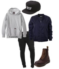BTS I NEED U Rapmonster Inspired Outfit [Requested by anon] ❖Follow for more Kpop-style❖ Find It On Polyvore