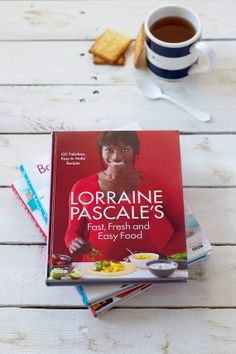 """Lorraine Pascale """"Fast, fresh and easy food"""", new cookbook"""
