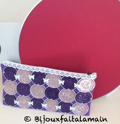 Trousse avec capsules Nespresso Shabby Chic Stil, Cup Crafts, Coffee Pods, Refashion, Projects To Try, Purses, Accessories, Couture, Photos