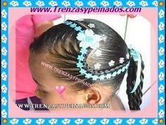 Peinado para niña. Curso #4 (El corazon). - YouTube Little Girl Hairstyles, Summer Hairstyles, Cute Hairstyles, Cornrows, Braids, Hair Art, Her Hair, Ponytail, Hair Styles
