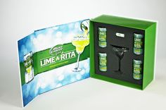 Custom Product Launch Kits, Press Kits by Sneller.  Custom Promotional Packaging.  Custom Marketing Materials.  www.snellercreative.com.  Lime-A-Rita Product Launch Kit, Press Kit by Jeff Snell, via Behance