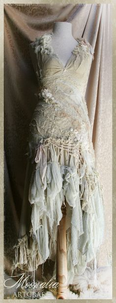 The Dance Of Zephyr Dress by Moonalia on Etsy