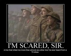 Blackadder goes forth. - The Whole series of Blackadder was good but Goes Forth was the best one, i think it was it touched on reality in its poignancy to (JT) British Sitcoms, British Comedy, British Humor, Mr Bean Quotes, Tv Quotes, Blackadder Quotes, Johnny English, Classical Art Memes, Monty Python