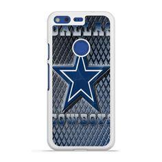 NFL Dallas Cowboys Blue Faux Glitter Sparkle Pixel case