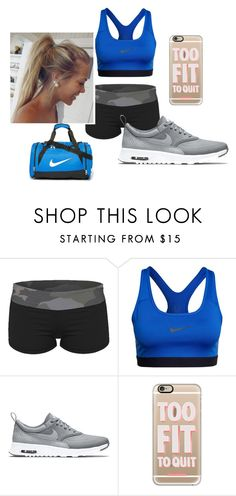 """Workout"" by bintiyussuf on Polyvore featuring NIKE and Casetify"