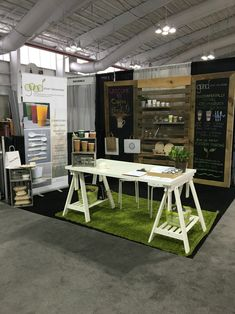 Tradeshow booth, convention booth