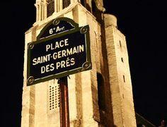 La place, et l'église, Saint-Germain-des-Prés  (Paris 6ème)