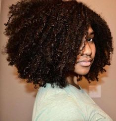 Black Natural Curly Hairstyles for Medium Length Hair