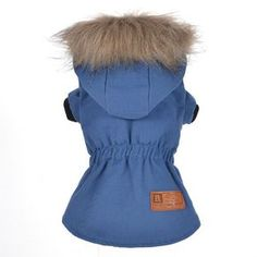 Dog Snow Warm Coat,Homedeco Pet Doggie Winter Vest Puppy Windproof Hoodie Sweater Clothes Dog Stylish Suit Apparel >>> Visit the image link more details. (This is an affiliate link and I receive a commission for the sales) Cheap Dog Clothes, Small Dog Clothes, Puppy Clothes, Blue Costumes, Pet Costumes, Dog Winter Coat, Winter Vest, Dog Hoodie, Dog Sweaters