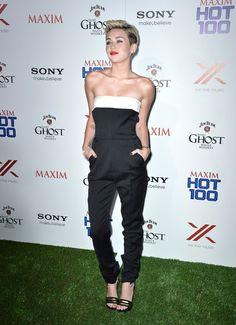 Miley Cyrus gorgeous jumpsuit