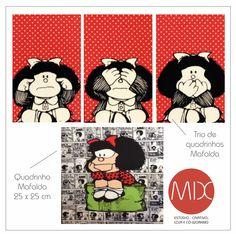 Temos Mafaldinhas. #themixbazar