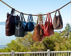 There's a lot to love about a leather handbag.
