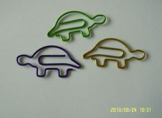 Turtle Paperclips
