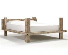 Reclaimed wood Beds Rustic bed