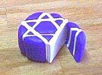 Polymer Clay Central- Star of David cane