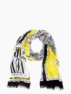 Kate Spade New York Map Scarf   might just display this it's so beautiful!