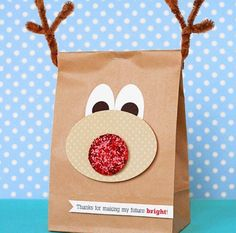 .Another reindeer bag