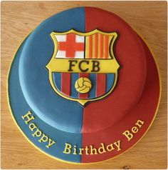 Fc Barcelona, Barcelona Party, Messi Birthday, Soccer Birthday, Birthday Cake, Just Cakes, Cakes For Boys, Sport Cakes, Soccer Cakes