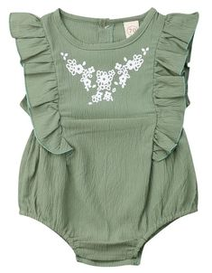 She'll definitely melt everyone's hearts with this beautiful romper. Shop it now