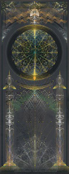Digital Deco / 60x150 cm. Tatiana Plakhova / complexitygraphics.com