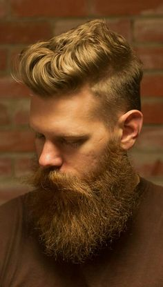 Awesome haircut and a spectacular beard!