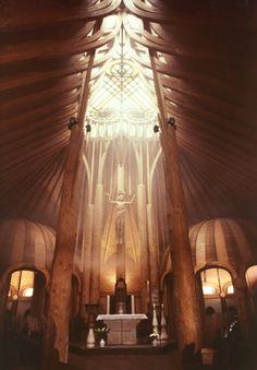 1987 Paks, Templom | Makovecz Imre