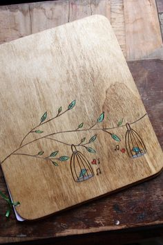 Custom Wedding Guest Book - Lovebirds