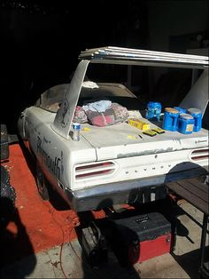 1970 Plymouth Superbird On The Farm Farmbird Post Rusty Muscle Car Photos And Project Muscle