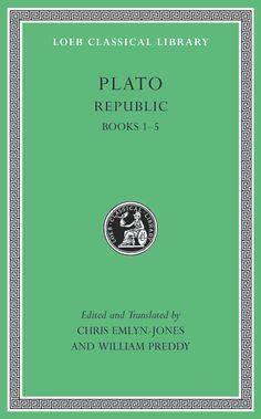 Republic / Plato ; edited and translated by Chris Emlyn-Jones and William Preddy - Cambridge, MA : Harvard University Press, 2013 - 2 Vols.