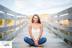 Senior Picture Poses Beach | ... Banks, NC Photographer | Malia Senior portraits at Coquina beach