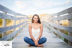 Senior Picture Poses Beach   ... Banks, NC Photographer   Malia Senior portraits at Coquina beach