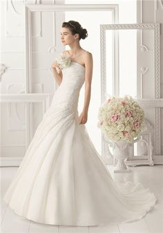 Aire Barcelona Wedding Dresses - The Knot