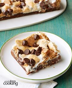 Gimme S'More Grilled Brownies #recipe
