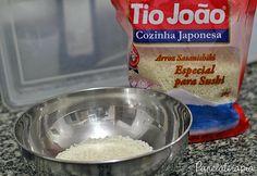 PANELATERAPIA - Blog de Culinária, Gastronomia e Receitas: Arroz para Sushi