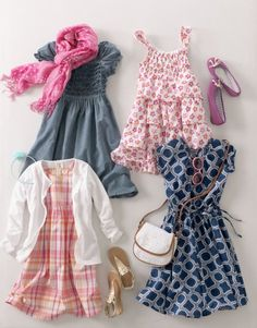 Cute Spring styles from Lands' End.  #babygear #toddlergear #giveaway @BabyCenter