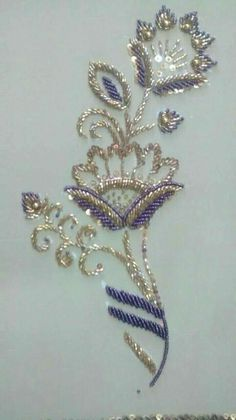 Introduction to Tambour Beading with Karen Torrisi from London - Salvabrani Zardozi Embroidery, Pearl Embroidery, Bead Embroidery Patterns, Tambour Embroidery, Crewel Embroidery Kits, Couture Embroidery, Bead Embroidery Jewelry, Silk Ribbon Embroidery, Hand Embroidery Designs