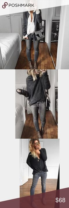 FREE PEOPLE Faded Black Jeans NEW!! Super Cute Free People Skinny Jeans!! Brand New in Faded Black Color. Will Look Adorable with heels, booties or high boots!! Dress them up or wear them casually either way you will Love these Jeans!! Purchased from a Boutique, Free people on tag inside jeans is crossed out.  Discount on a Bundle Free People Jeans Skinny