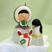 Hallmark Frosty Friends Ornament Number 5 1984